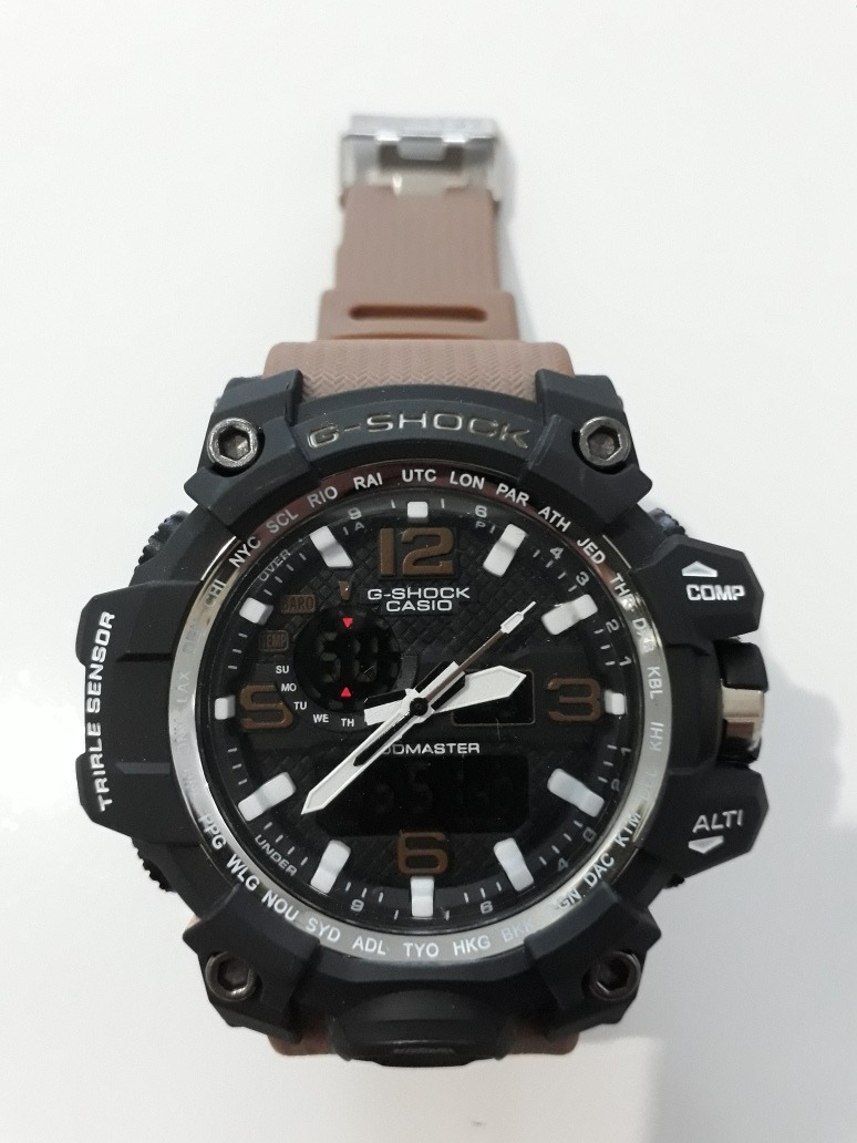0f1496c113c Relógio G-shock Mudmaster Marrom A Prova D água - R  65