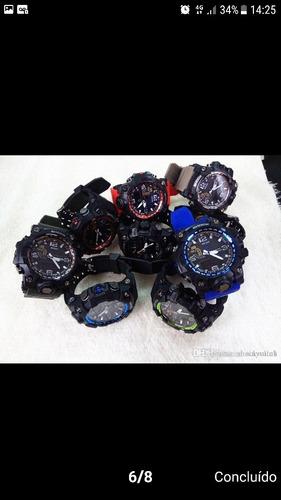 relógio g shock mudmaster o melhor e barato fret gratis