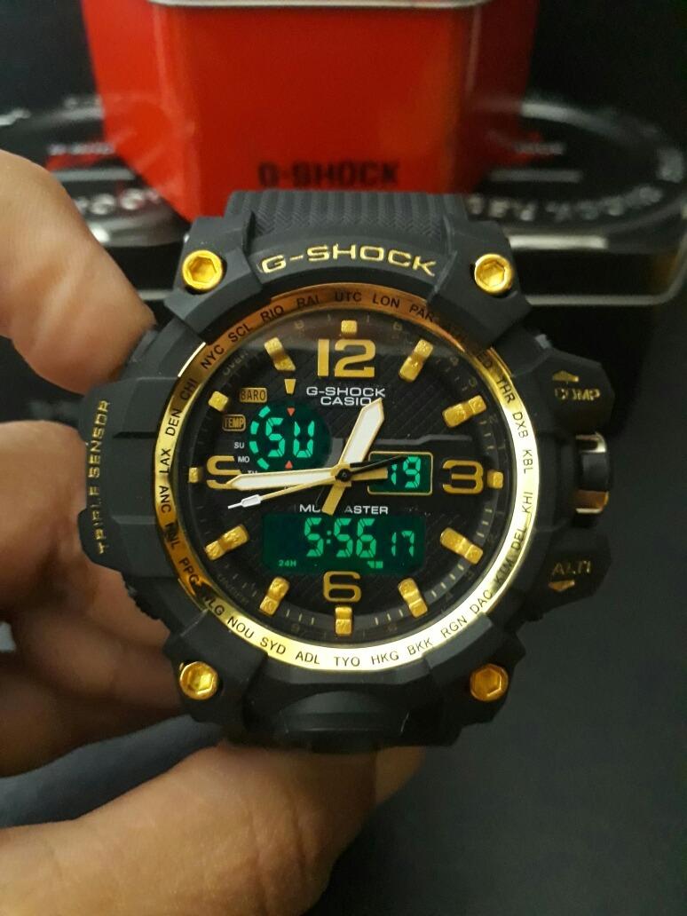 adb304b6d46 relógio g-shock mudmaster preto dourado preço baixo. Carregando zoom.