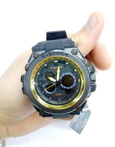 6644866e6da Relógio G-shock Preto C dourado Resistente + Frete Grátis - R  120