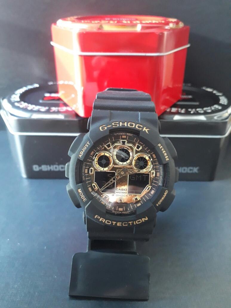 1f328abfa26 relógio g-shock preto visor dourado em promoção. Carregando zoom.