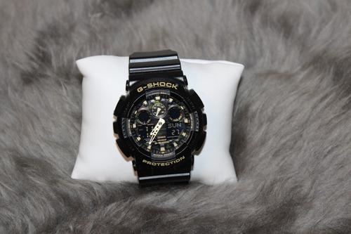 relógio g-shock protection camuflado - casio original