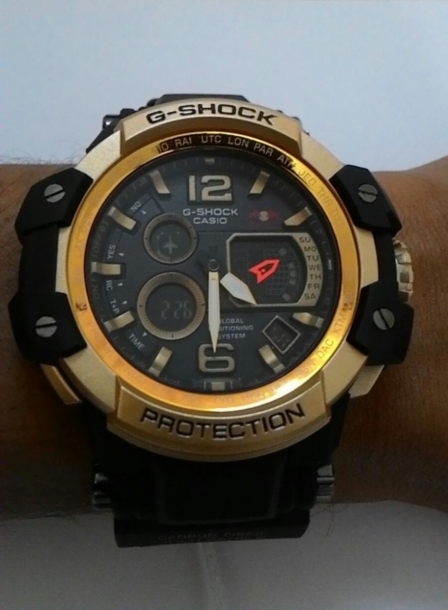 8e17639bfa0 relógio g-shock red bull dourado + caixa + frete grátis. Carregando zoom.