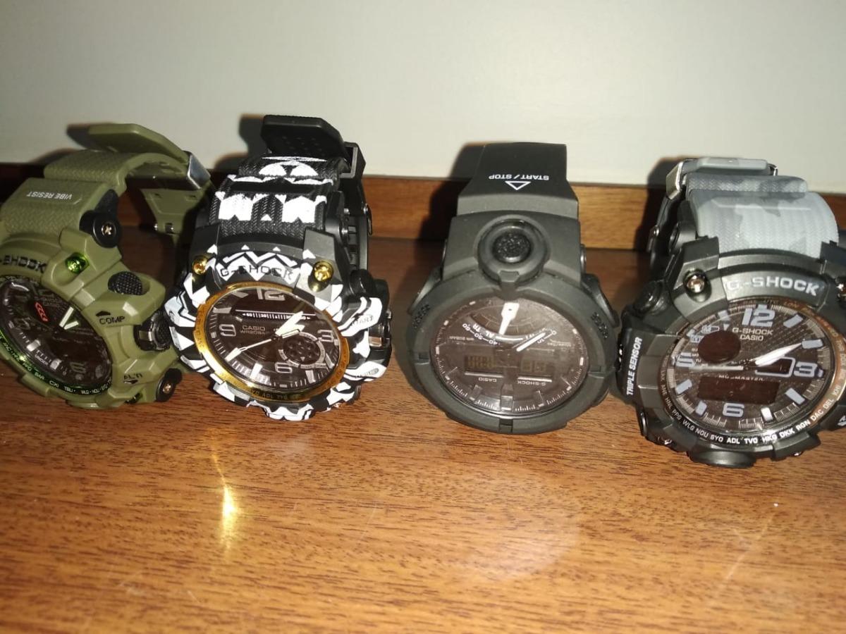 33045881f1c relógio g shóck vários modelos e shock choque prova d agua. Carregando zoom.