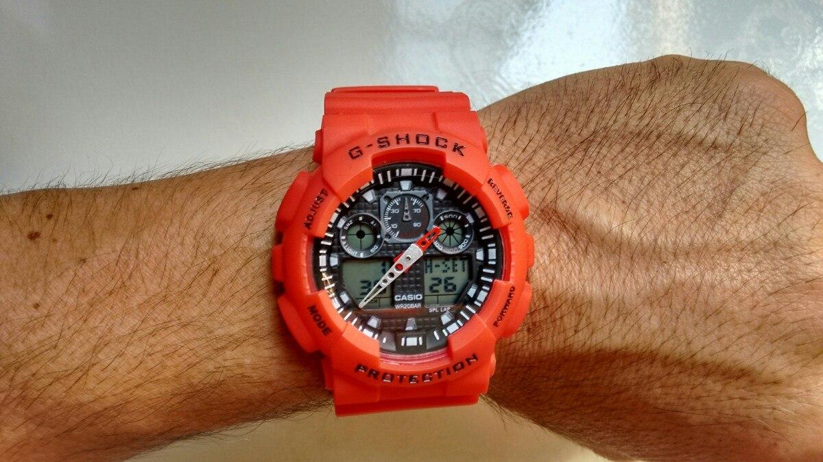 Relógio G-Shock GLX-5600-4DR - Vermelho - Session Store