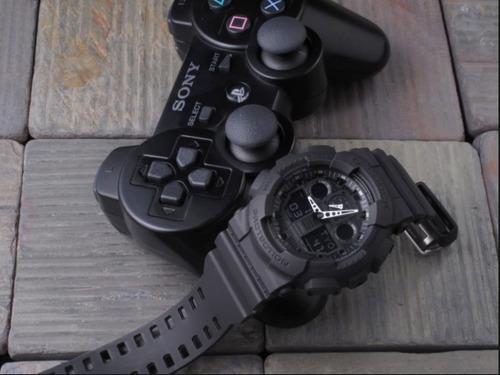 relógio ga-100-1a1 novo original c/ caixa etiqueta e manual
