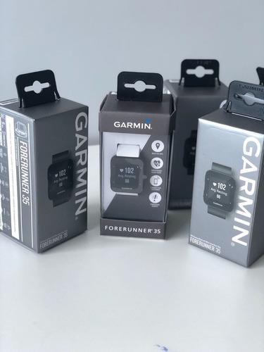 relógio garmin forerunner 35 com gps/frequência