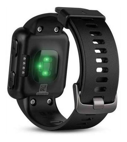 relógio garmin forerunner 35 corrida gps smartwatch preto