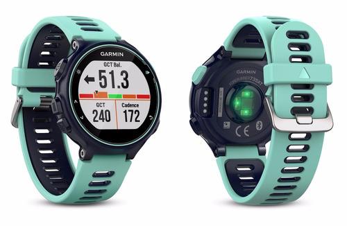 relógio garmin forerunner 735xt c/ gps p/ corrida natação