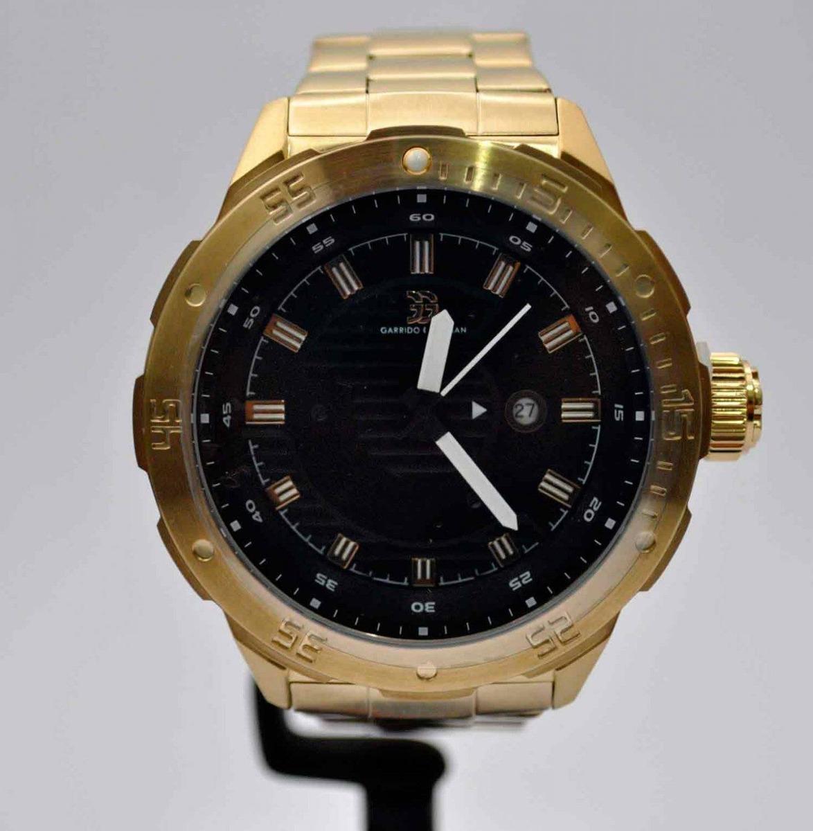 6fbbc0e73aa relógio garrido e guzman gg2032 dourado. Carregando zoom.