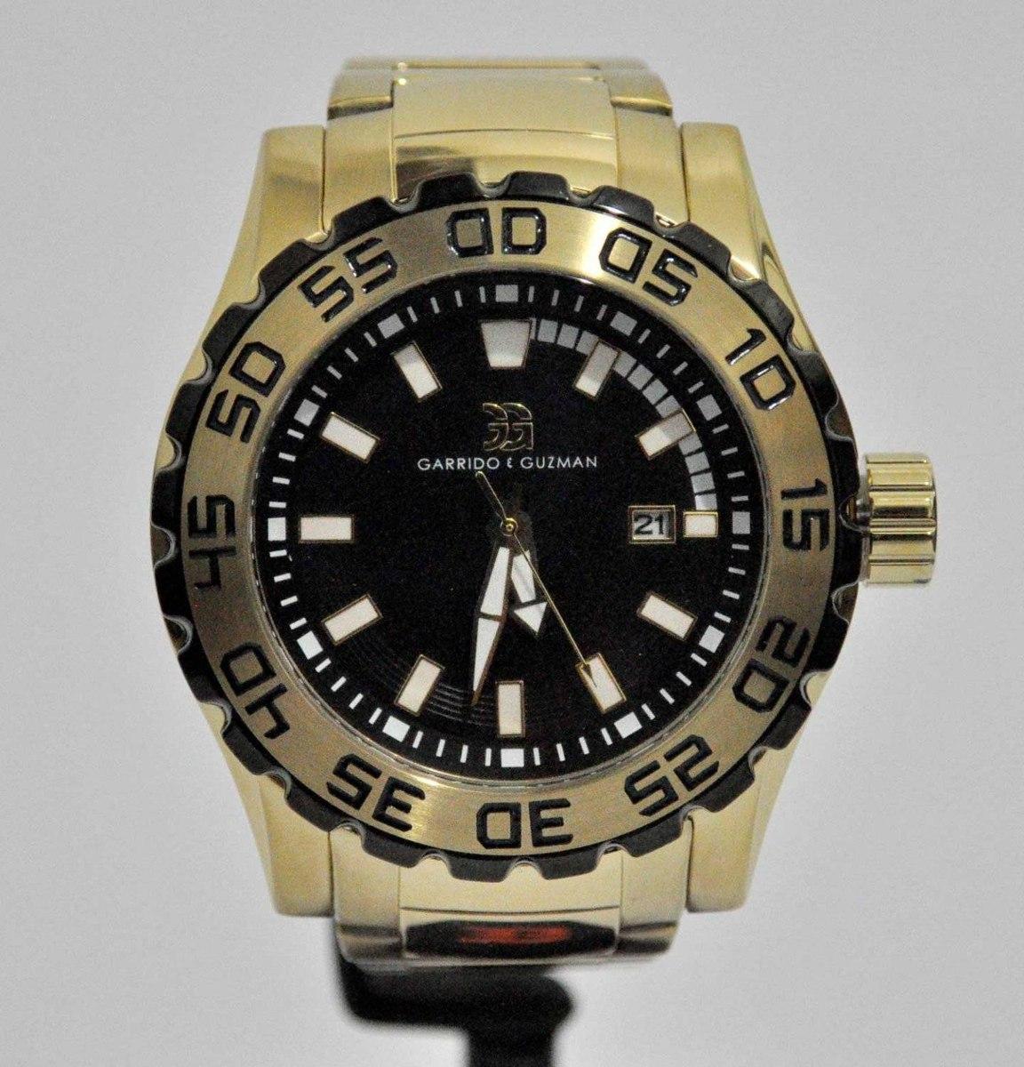 f81526bdcba relógio garrido e guzman gg2046gsg dourado. Carregando zoom.