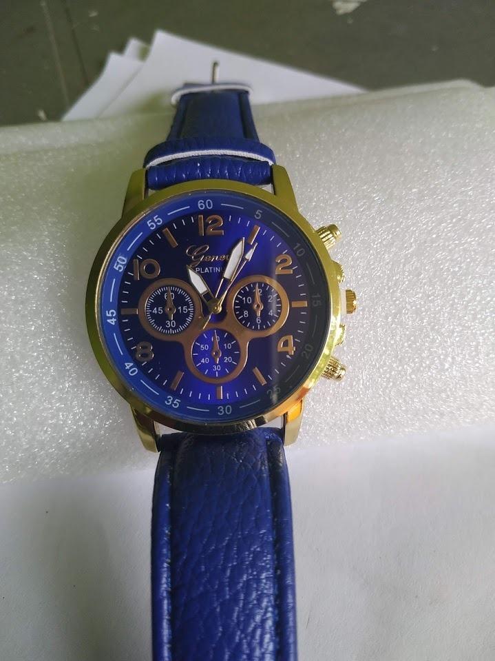 7d086ed2aa3 Relógio Geneva Aço Inoxidável Finissímo - R  69
