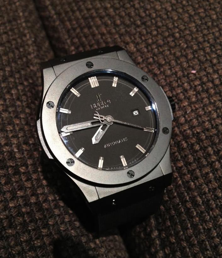 0d838f56818 Relógio Geneve Caixa 42 Mm Aço Inox Pronta Entrega - R  299