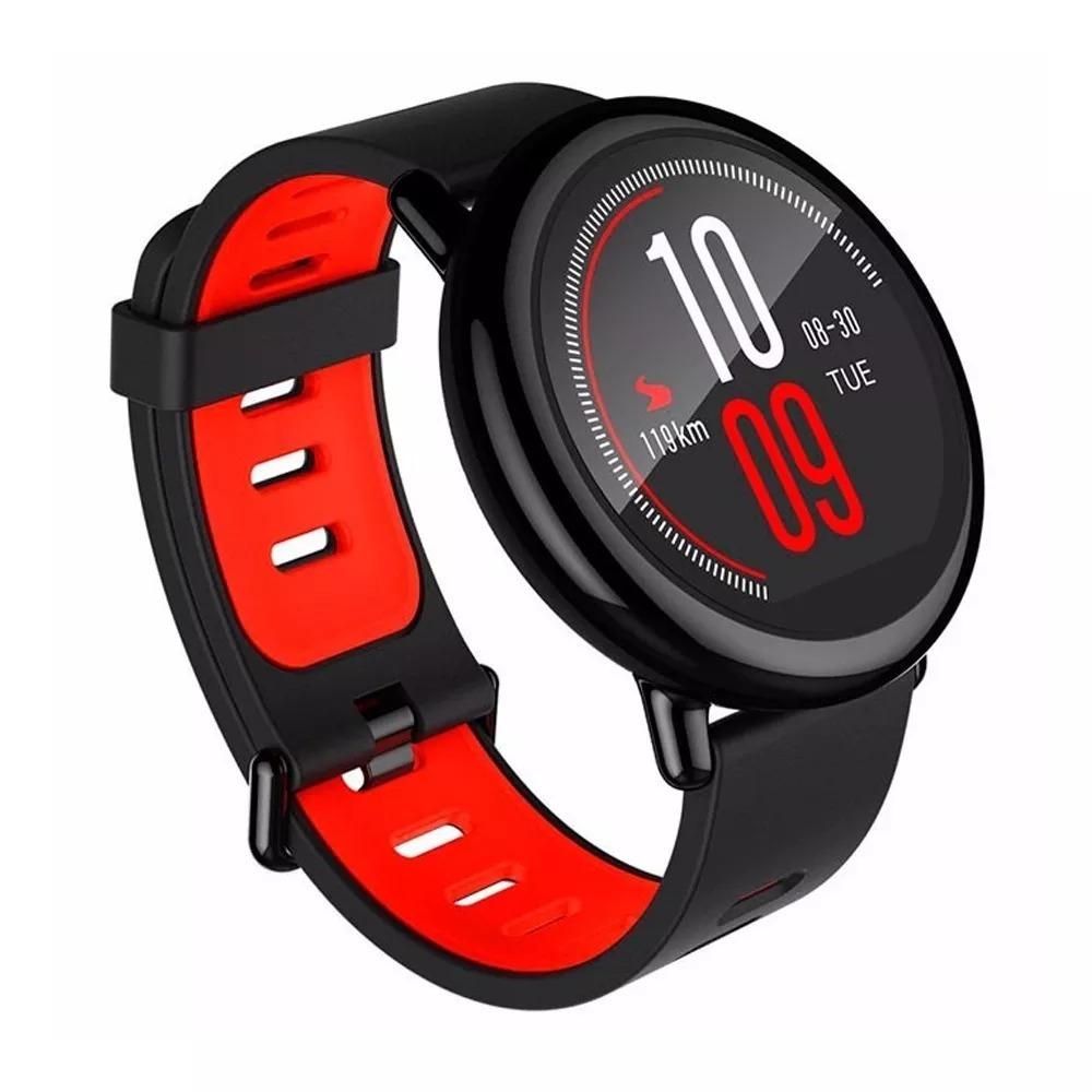 495a70e01bd relógio gps corrida smartwatch xiaomi amazfit + pelicula. Carregando zoom.