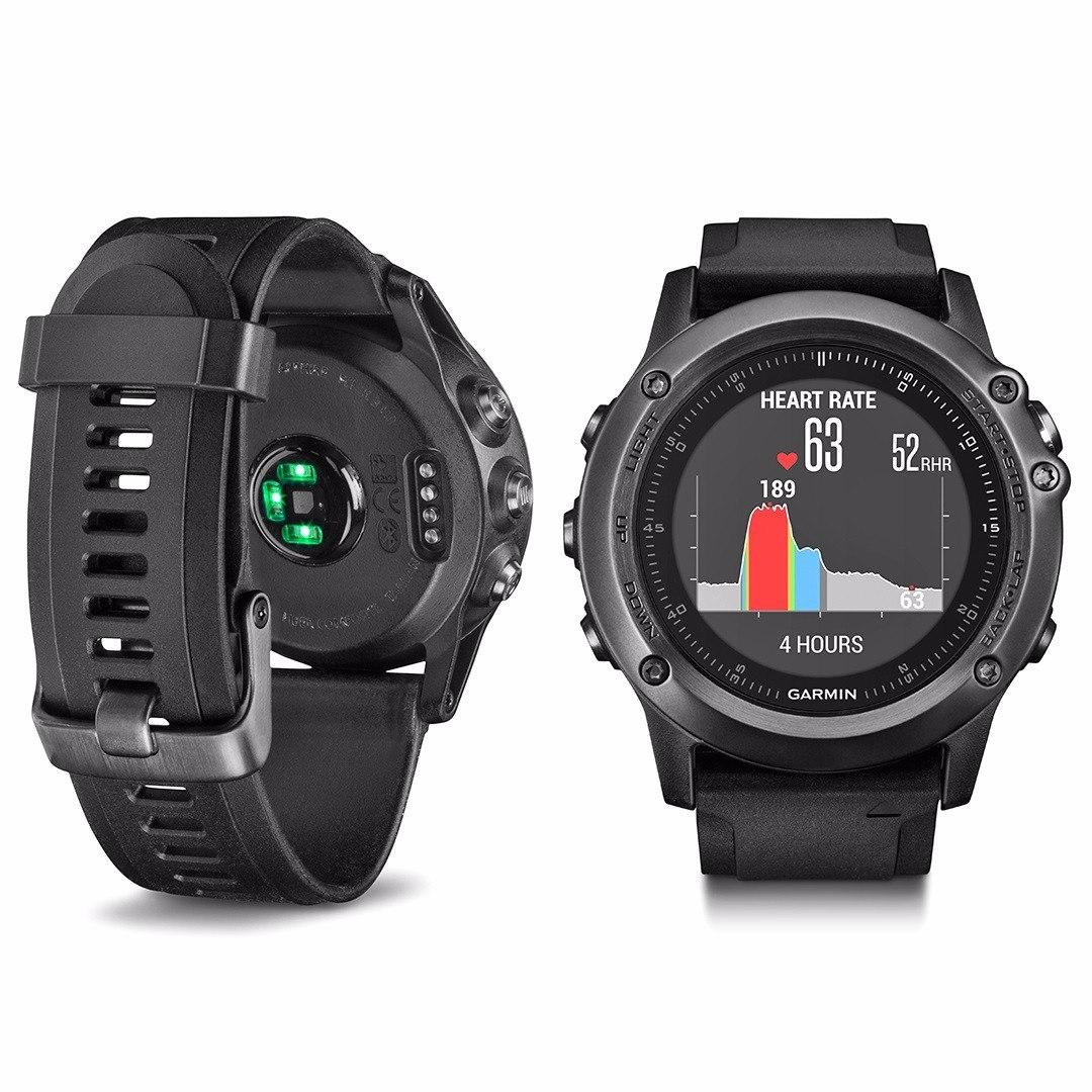 a58a0b1d4a7 Relógio Gps Garmin Fenix 3 Hr Safira Batimento No Pulso Nf - R ...