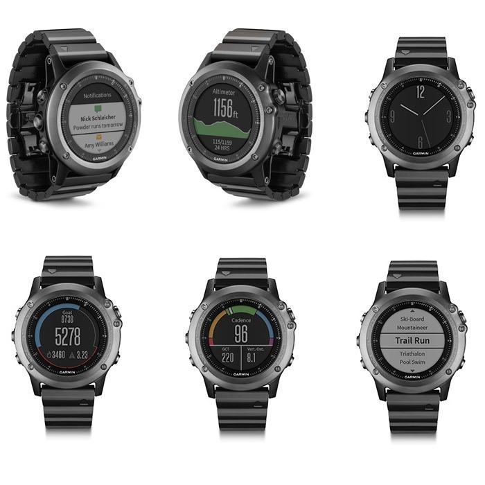 b6de91758b2 Relógio Gps Garmin Fenix 3 Sapphire Hr - R  3.200