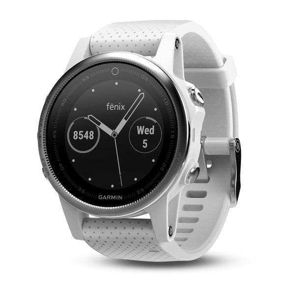 eaba7977cac Relógio Gps Garmin Fenix 5s Branco 010-01685-00 - R  3.399