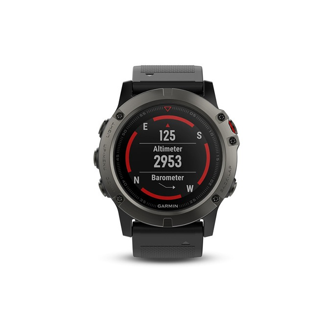 cc6a9edf4fd40 Relógio Gps Garmin Fenix 5x Safira Hrm 51mm Cinza Altimetro - R  3.999,00  em Mercado Livre