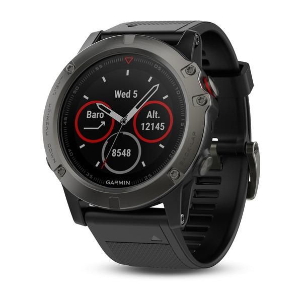 fa8041d288424 Relógio Gps Garmin Fenix 5x Safira Hrm 51mm Cinza Altimetro - R ...