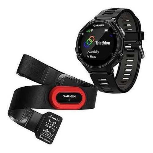 relógio gps monitor cardíaco garmin forerunner 735xt + cinta