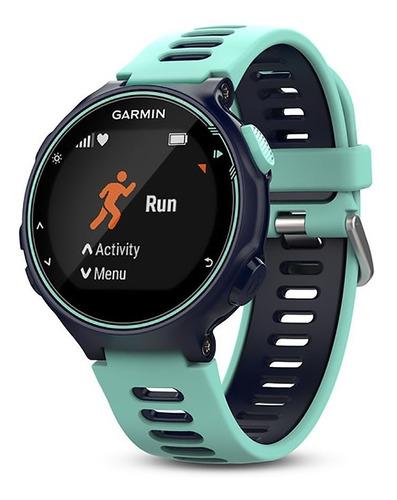 relogio gps smartwatch garmin forerunner 735xt triathlon az