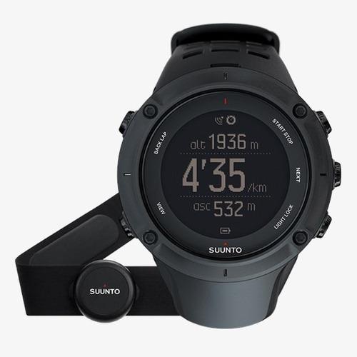 relógio gps suunto ambit3 peak black hr nunca usado na caixa