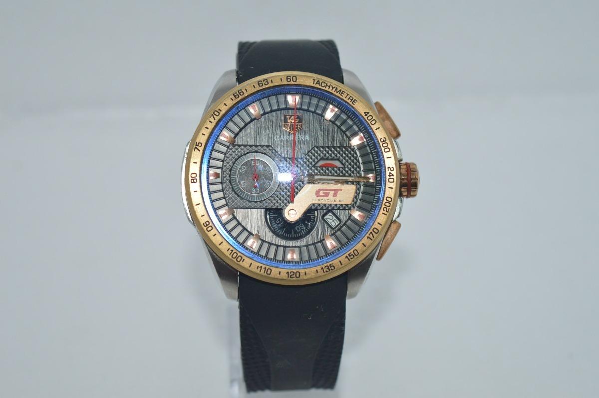 1492d55ebd2 relógio grand carrera gt acabamento vermelho e dourado. Carregando zoom.
