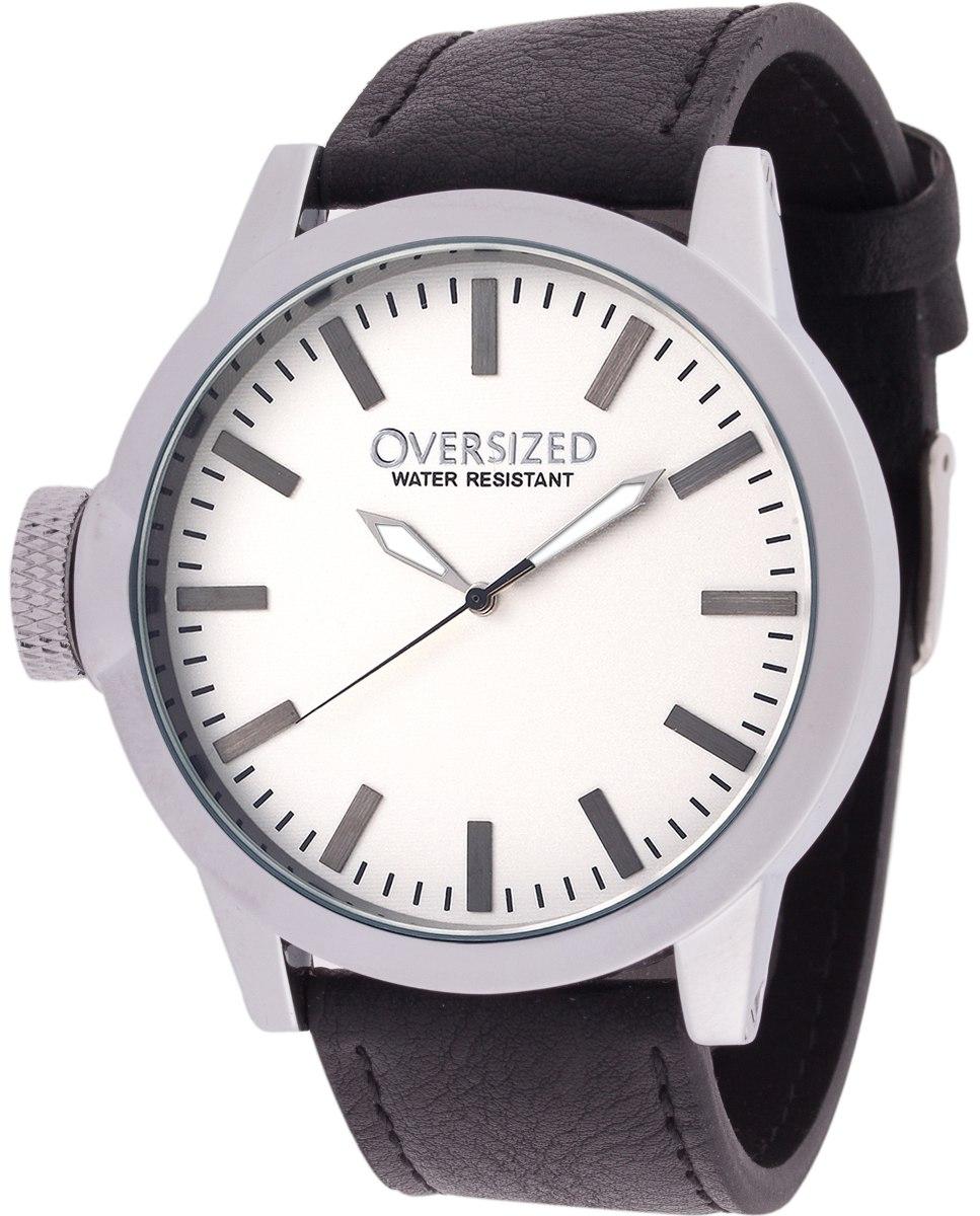 72e6a474bee Características. Marca Oversized  Modelo Relógio Grande Social Oversized  Wall Street 49mm White  Gênero Masculino