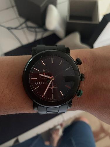 relógio gucc g chrono ya101341