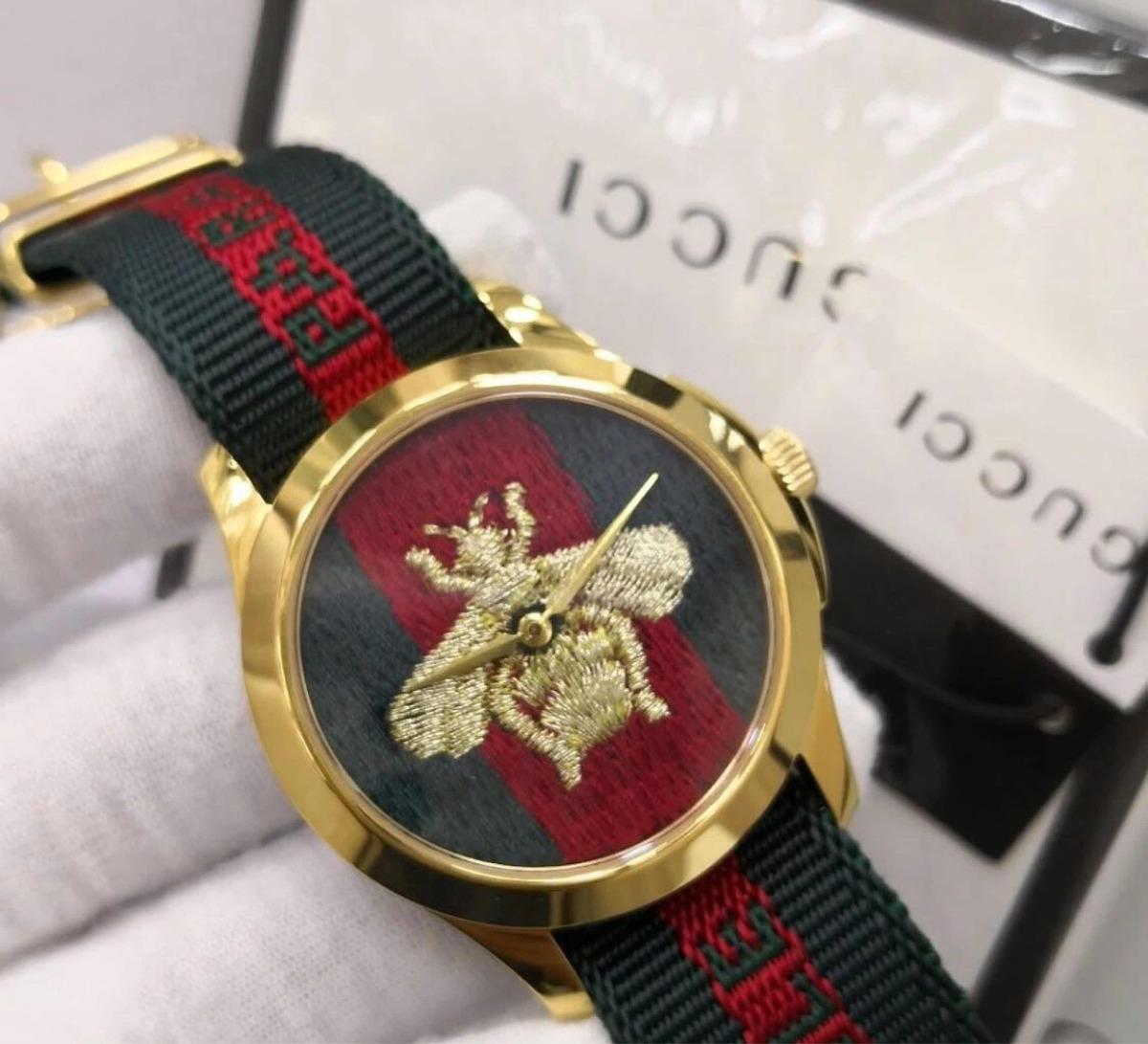 8a91088ee81 relógio gucci abelha frete grátis original. Carregando zoom.