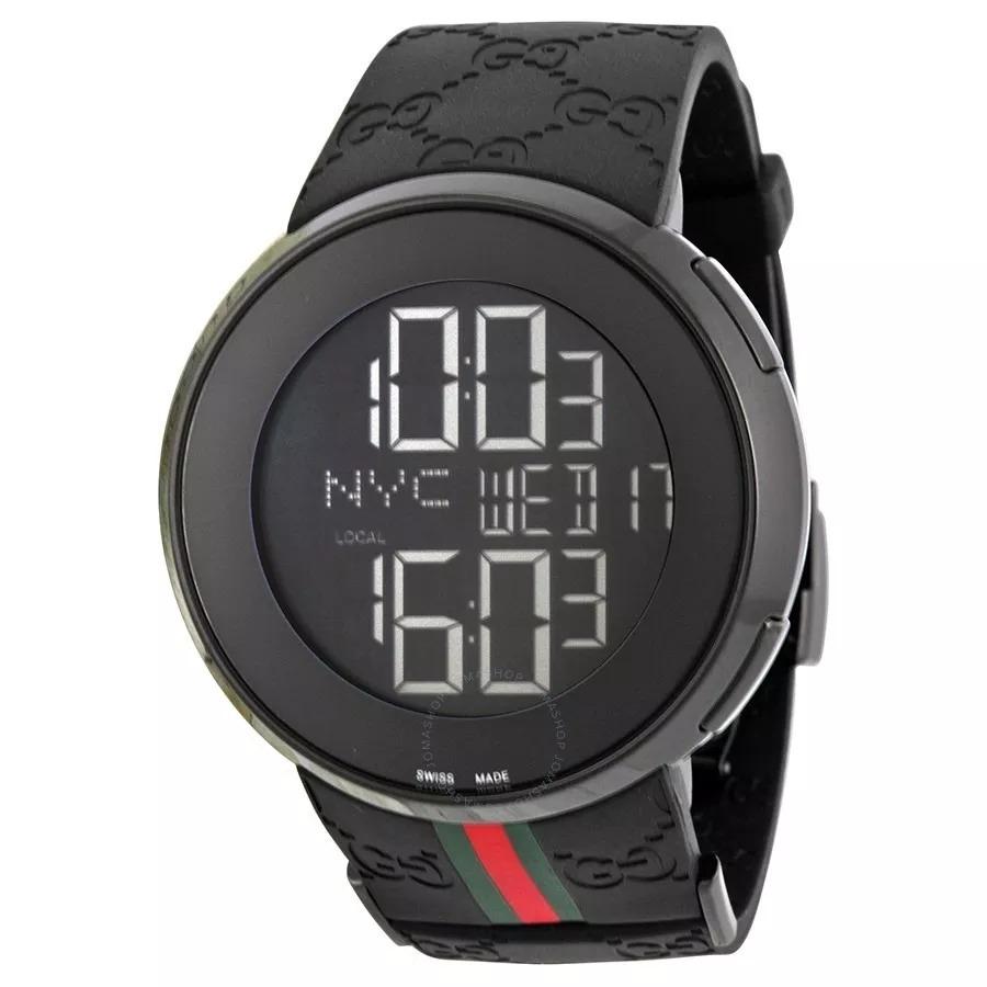 fec42d4b44d Relógio Gucci Digital I-gucci 114 - Todo Funcional - R  359