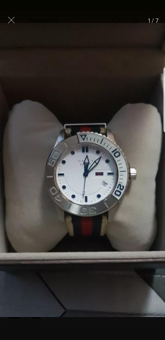 9a5b16b7495 relógio gucci suíço masculino original. Carregando zoom.