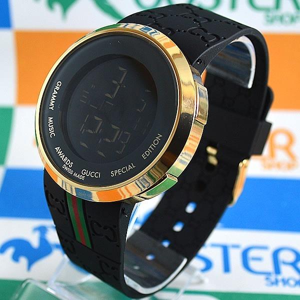 853ba9000fe Relógio Gucci Digital Dourado Unissex À Prova D´água - R  169