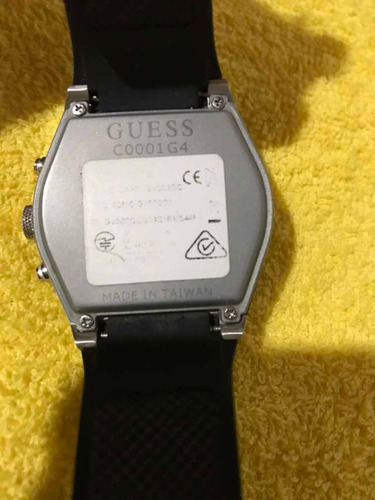 relógio guess connet