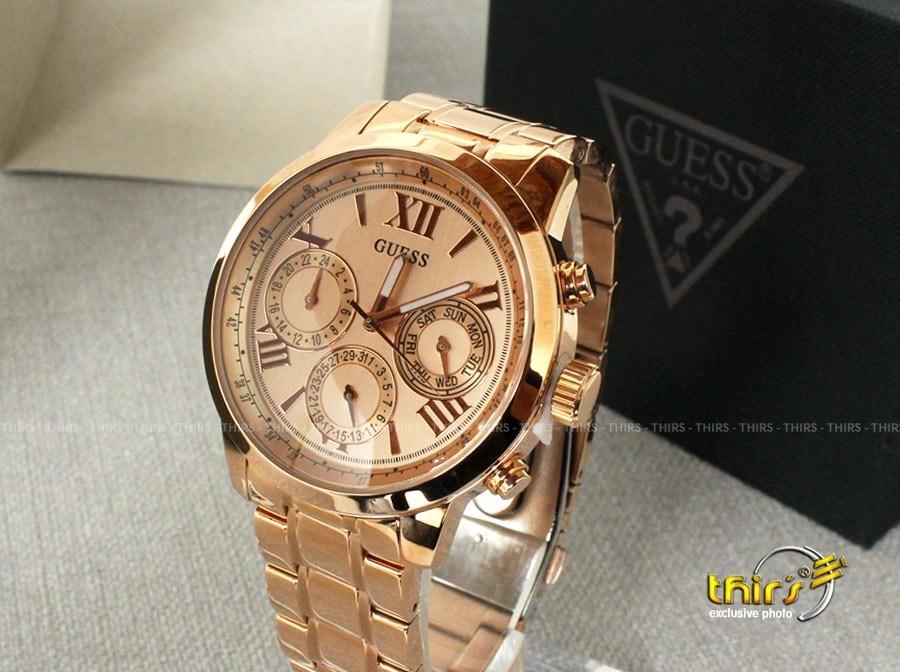 667e33eff76 Relogio Guess Feminino Original 92521 - Grande 44 Mm Rose - R  799 ...