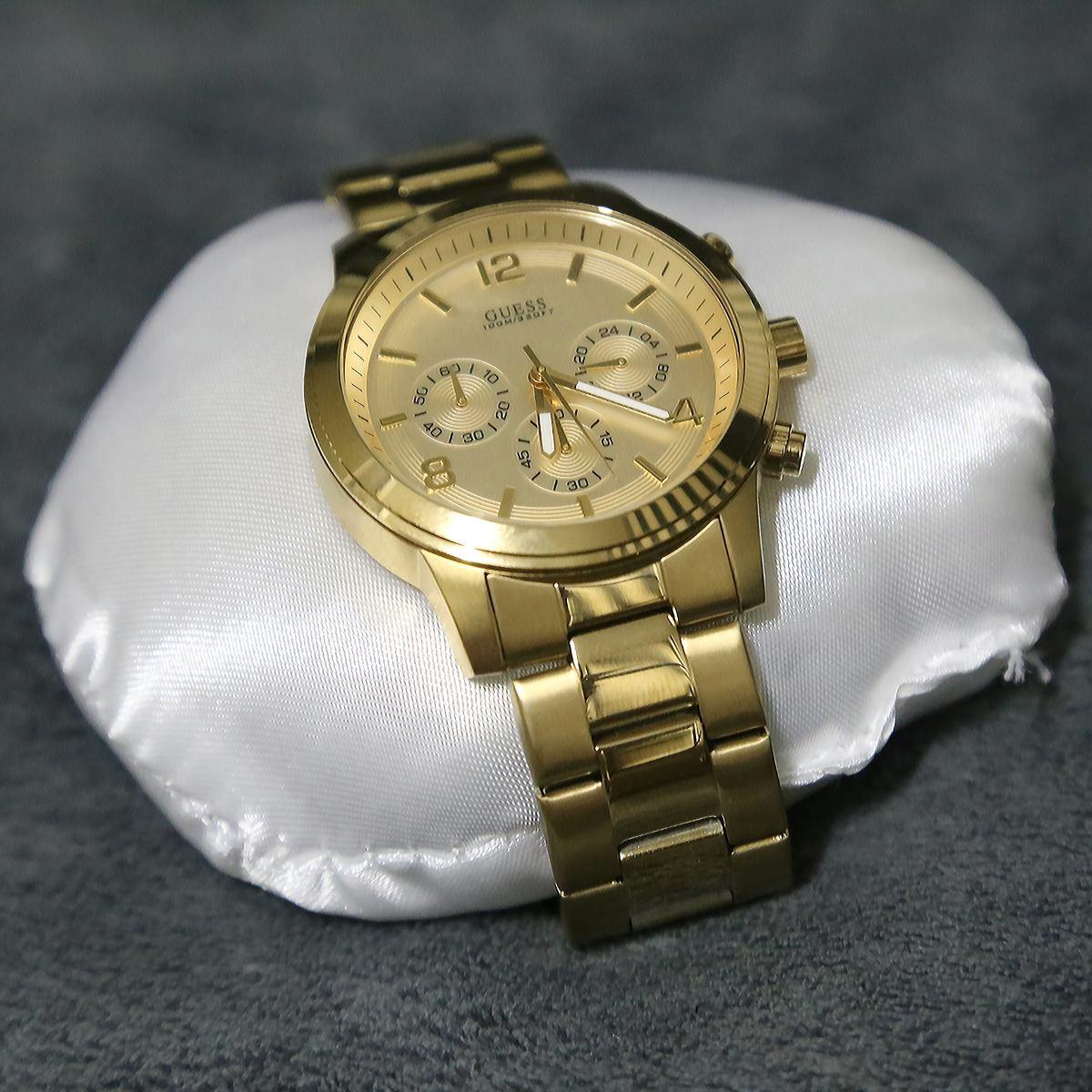 9fd96f363b6 Relógio Guess Feminino Dourado - 40%off - R  479