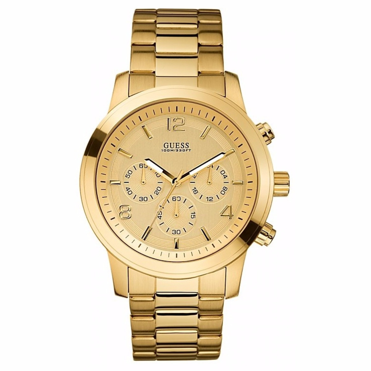 18fe70ce7ad relógio guess feminino dourado - 40%off. Carregando zoom.