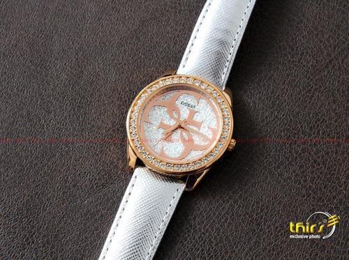 relogio guess feminino w0627l9 com cristais - 40 mm oiginal