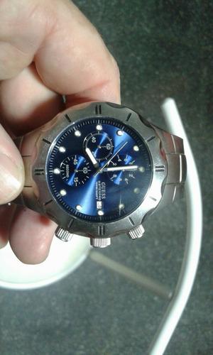 relógio guess pulseira de aço semi novo