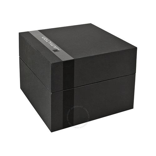 relogio hamilton h70555533 khaki field automatico 42 mm