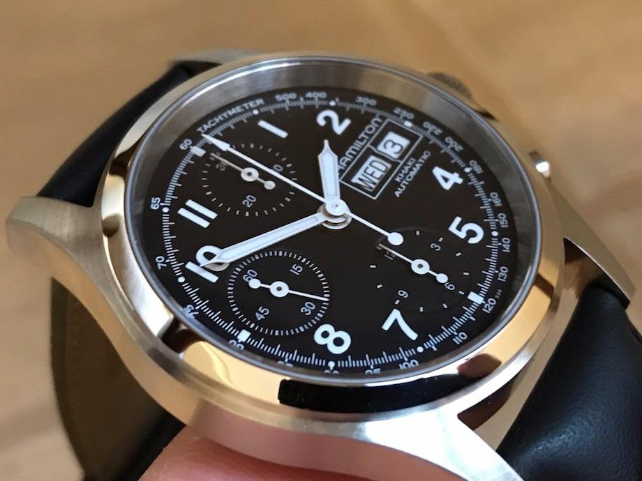 c7cf48e861c relógio hamilton khaki field chronograph automatic h71416733. Carregando  zoom.