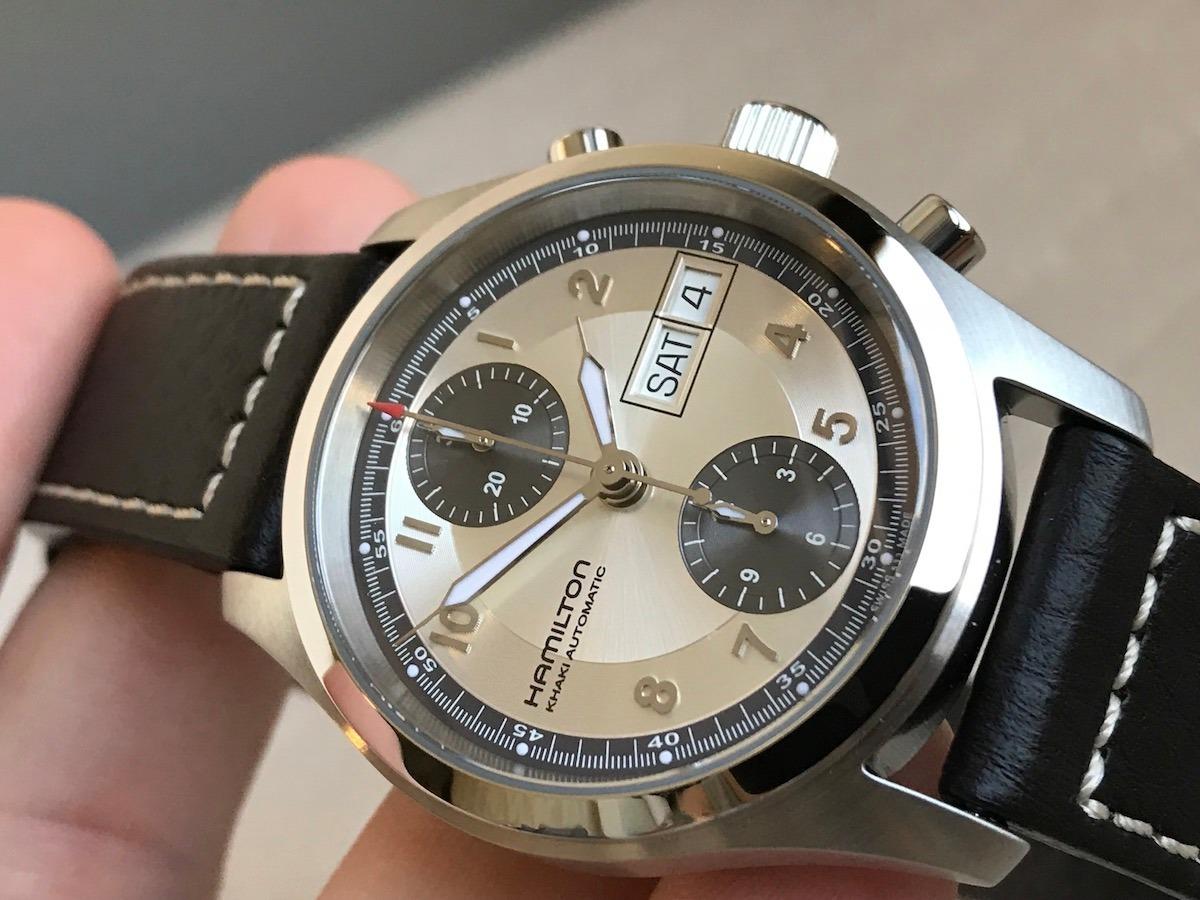 62fe142b98b relógio hamilton khaki field chronograph automatic h71466553. Carregando  zoom.