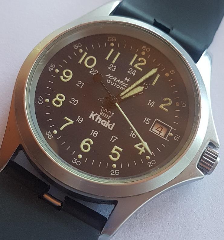 6625e713293 Relógio Hamilton Khaki Field King - R  1.950