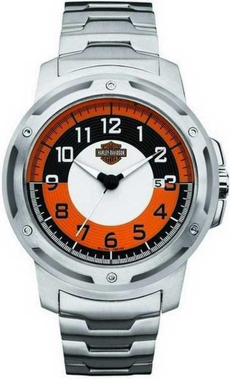 138432d76b3 Relógio Harley Davidson Bulova 76b152 Masculino Analógico - R  832 ...