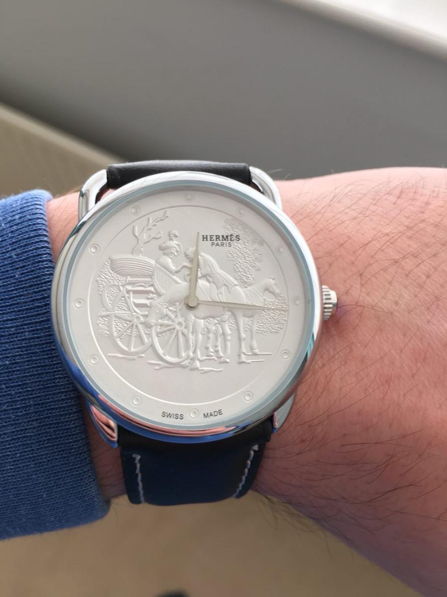 105c02132b5 relógio hermes paris - social de alta resistencia - leia. Carregando zoom.
