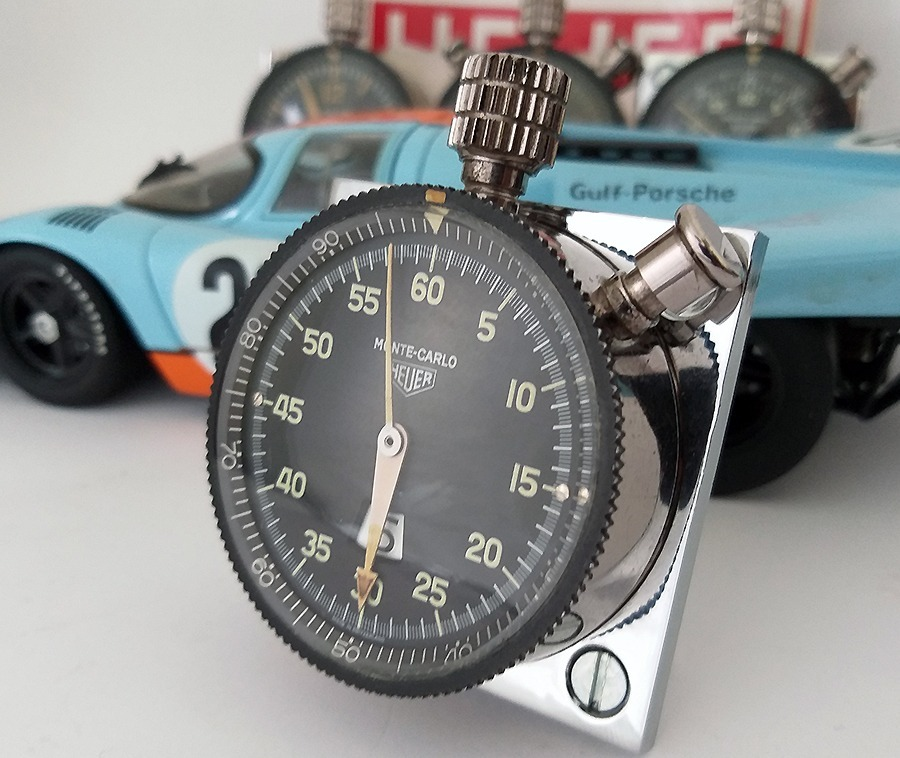 3374c1c0481 relógio heuer monte carlo - dashboard rally porsche. Carregando zoom.