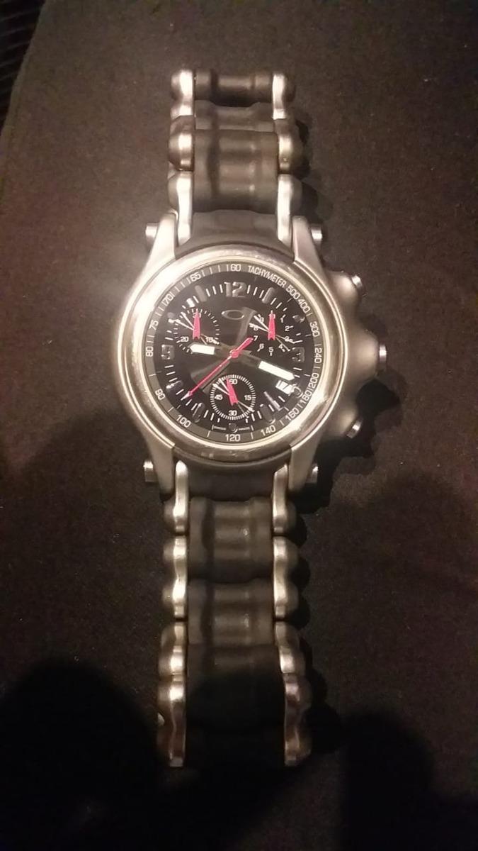 7cd447371c9 relógio holeshot bracelete oakley original. Carregando zoom.