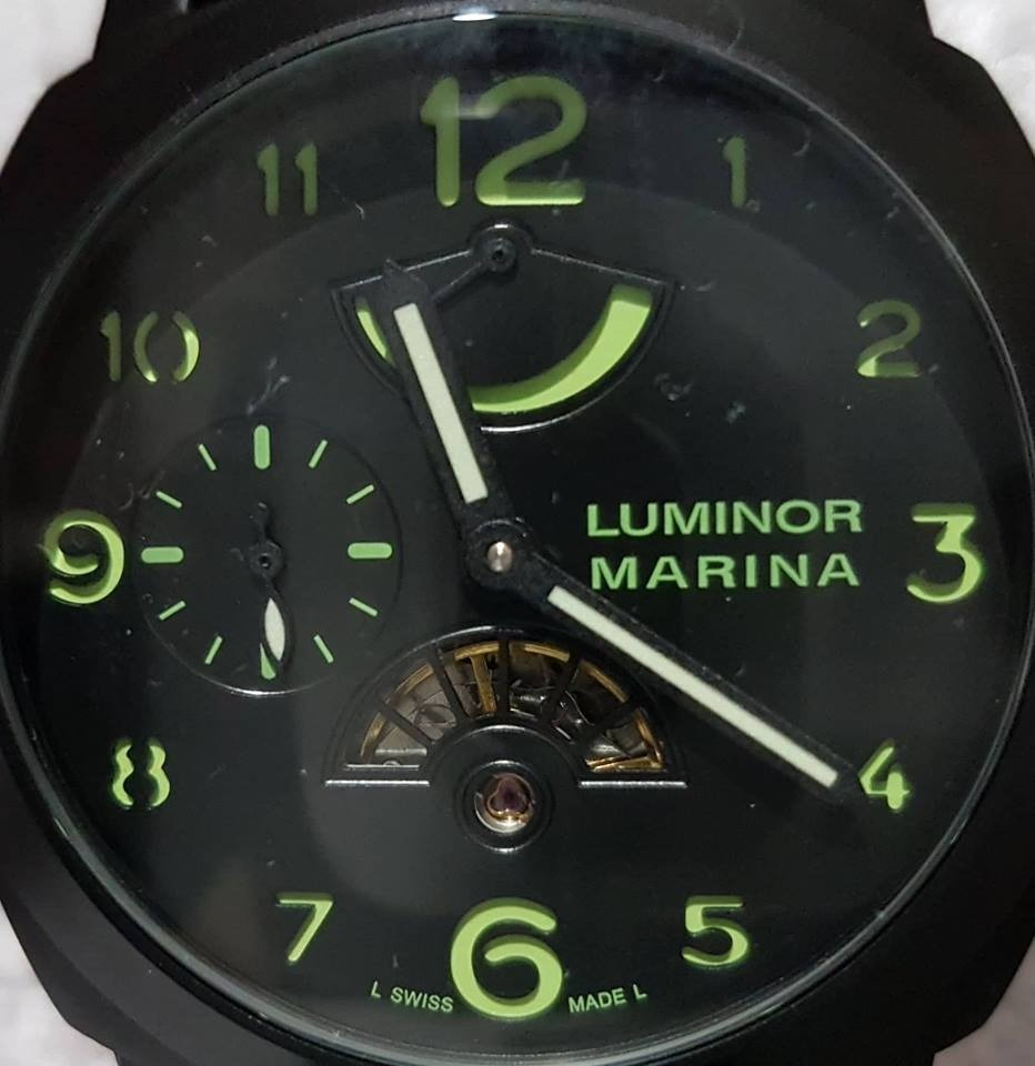 782d5fbe60f relógio homens panerai luminor marina automatico. Carregando zoom.
