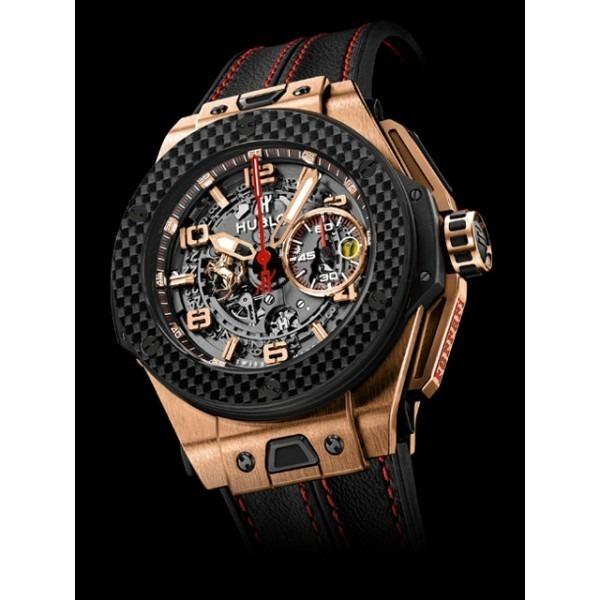 1f7513ff8a8 Relógio Hublot Ferrari King Gold Carbon - R  1.300
