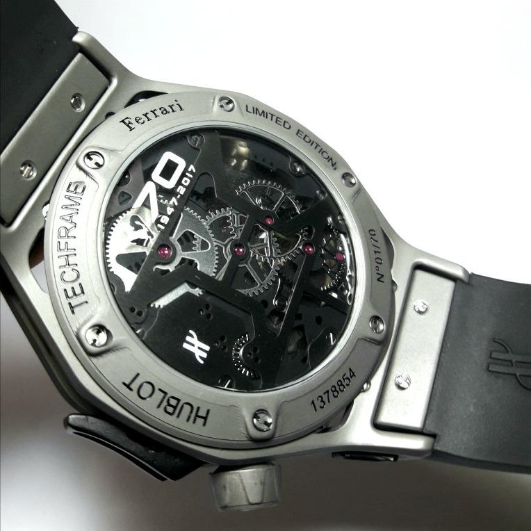 de59518d7b7 Relógio Hublot Ferrari Tourbillon Techframe Automático - R  2.800